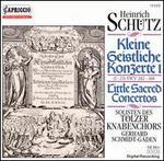 Schutz: Kleine Geistliche Konzerte, SWV 282-304