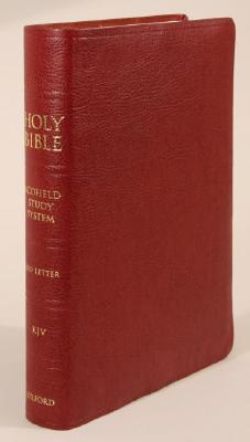 Scofield Study Bible III-KJV - Oxford University Press (Creator)