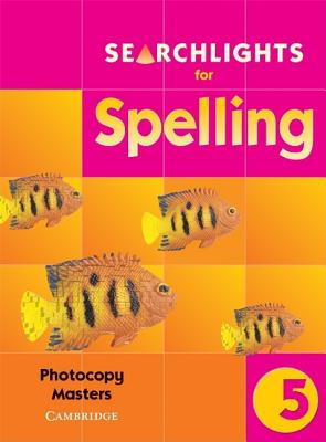 Searchlights for Spelling Year 5 Copymasters - Buckton, Chris, and Corbett, Pie
