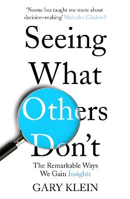 Seeing What Others Don't: The Remarkable Ways We Gain Insights - Klein, Gary