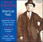 Serge Koussevitzky conducts American Music
