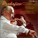 Sergei Prokofiev: Music for Violin and Piano