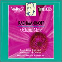 Sergei Rachmaninoff: Orchestral Music - St. Louis Symphony Orchestra; Leonard Slatkin (conductor)