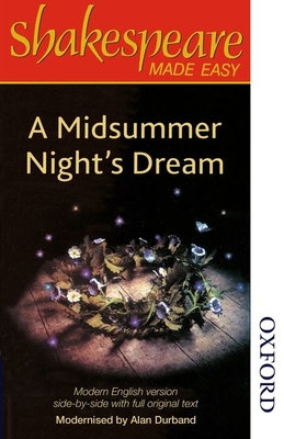 Shakespeare Made Easy: A Midsummer Night's Dream - Durband, Alan