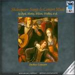 Shakespeare Songs & Consort Music