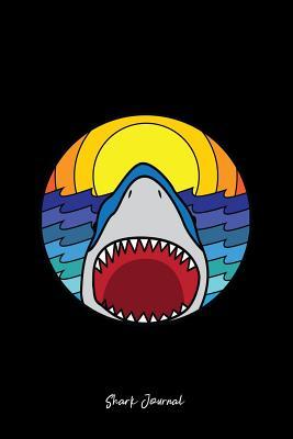 Shark Journal: Dot Grid Journal - Shark Jaws Cool Fun-ny Sea Ocean Animal Gift - Black Dotted Diary, Planner, Gratitude, Writing, Travel, Goal, Bullet Notebook - 6x9 120 pages - Shark Journals, Gcjournals