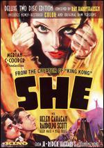 She [2 Discs] - Irving Pichel; Lansing C. Holden