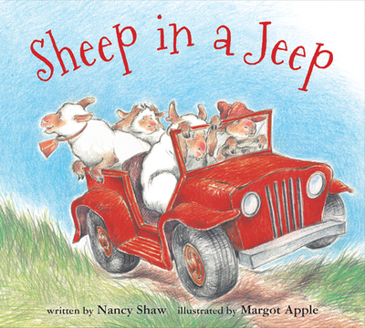 Sheep in a Jeep (Board Book) - Shaw, Nancy E, and Apple, Margot (Illustrator)