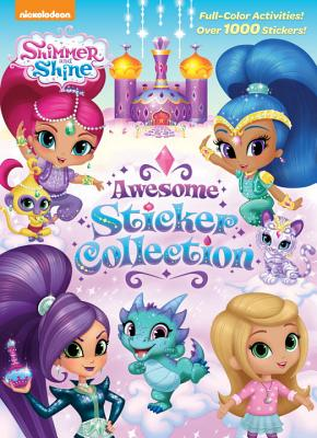 Shimmer and Shine Awesome Sticker Collection (Shimmer and Shine) - Golden Books
