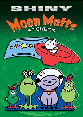 Shiny Moon Mutts Stickers - Lowe, Martin, and Stickers
