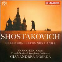 Shostakovich: Cello Concertos Nos. 1 & 2 - Enrico Dindo (cello); Danish National Symphony Orchestra; Gianandrea Noseda (conductor)