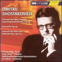 Shostakovich: Concerto for Piano, Trumpet & String Orchestra No. 1, Op. 35; Concertino, Op. 94; etc... - Florian Uhlig (piano); Peter Leiner (trumpet); SWR Radio Orchestra Kaiserslautern; Jiri Starek (conductor)