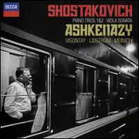 Shostakovich: Piano Trios Nos. 1 & 2; Viola Sonata - Ada Meinich (viola); Mats Lidström (cello); Vladimir Ashkenazy (piano); Zsolt-Tihamér Visontay (violin)