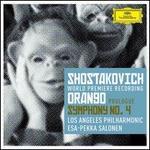 Shostakovich: Prologue to 'Orango'; Symphony No. 4 - Abdiel González (vocals); Adriana Manfredi (vocals); Daniel Chaney (vocals); Eugene Brancoveanu (vocals); Jordan Bisch (bass); Michael Fabiano (vocals); Ryan McKinny (vocals); Timur Bekbosunov (vocals); Todd Strange (vocals); Yulia Van Doren (vocals)