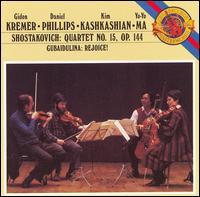 Shostakovich: String Quartet No. 15; Gubaidulina: Rejoice! - Daniel Phillips (violin); Gidon Kremer (violin); Kim Kashkashian (viola); Yo-Yo Ma (cello)
