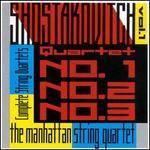 Shostakovich: String Quartets Nos. 1, 2, 3