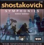Shostakovich: Symphonies [Box Set] - Alla Simoni (soprano); Sergey Aleksashkin (bass); Vladimir Vaneev (bass); MDR Leipzig Radio Chorus (choir, chorus);...
