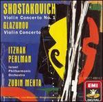 Shostakovich: Violin Concerto No. 1; Glazunov: Violin Concerto