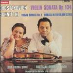 Shostakovich: Violin Sonata, Op. 134; Schnittke: Violin Sonata No. 1