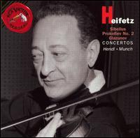 Sibelius, Prokofiev, Glazunov: Violin Concertos - Jascha Heifetz (violin)