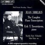 Sibelius: The Complete Piano Transcriptions, Vol. 1