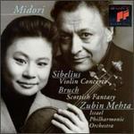 Sibelius: Violin Concerto; Bruch: Scottish Fantasy