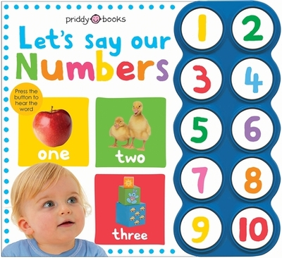 Simple First Words Let's Say Our Numbers - Priddy, Roger