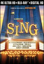 Sing [Includes Digital Copy] [4K Ultra HD Blu-ray/Blu-ray]