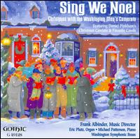 Sing We Noel - Eric Plutz (organ); Michael Patterson (piano); Nathan Lassell (conga); Patrick McMahan (tenor); Paul Snedecor (trumpet);...