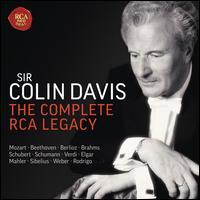 Sir Colin Davis: The Complete RCA Legacy - Alicia de Larrocha (piano); Angela Maria Blasi (soprano); Ben Heppner (vocals); Deborah Voigt (vocals);...