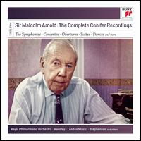 Sir Malcolm Arnold: The Complete Conifer Recordings - David Nettle (piano); Grimethorpe Colliery Band; John Lill (piano); Karen Jones (flute); Kenneth Sillito (violin);...