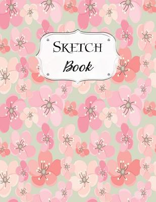 Sketch Book: Cherry Blossom Sketchbook Scetchpad for Drawing or Doodling Notebook Pad for Creative Artists Floral Flowers #4 - Doodles, Jazzy