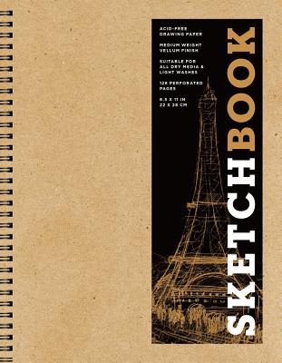 Sketchbook (Basic Large Spiral Kraft), Volume 15 - Sterling Publishing Company