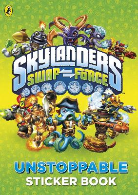 Skylanders Swap Force: Unstoppable Sticker Activity Book -