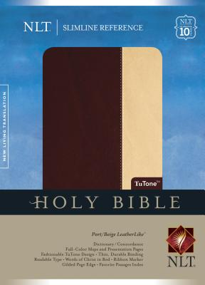 Slimline Reference Bible-NLT-10th Anniversary - Tyndale House Publishers (Creator)