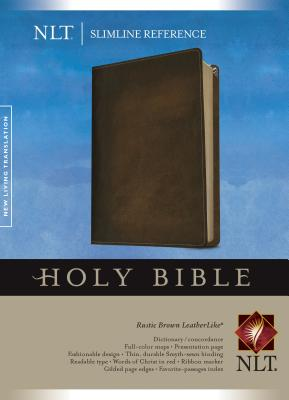 Slimline Reference Bible-NLT - Tyndale House Publishers (Creator)