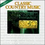 Smithsonian Collection of Classic Country Music, Vol. 1