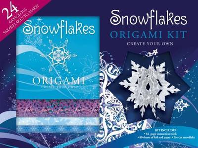 Snowflakes Origami Kit -