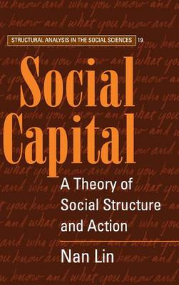 Social Capital: A Theory of Social Structure and Action - Lin, Nan