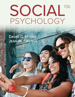 Social Psychology - Myers, David G, and Twenge, Jean M