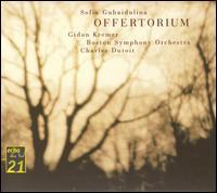 Sofia Gubaidulina: Offertorium - Alois Posch (double bass); Christine Whittlesey (soprano); David Geringas (cello); Eduard Brunner (clarinet);...
