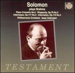 Solomon Plays Brahms