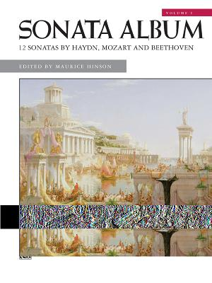 Sonata Album, Vol 1: Comb Bound Book - Beethoven, Ludwig Van (Composer), and Haydn, Franz Joseph (Composer), and Mozart, Wolfgang Amadeus (Composer)