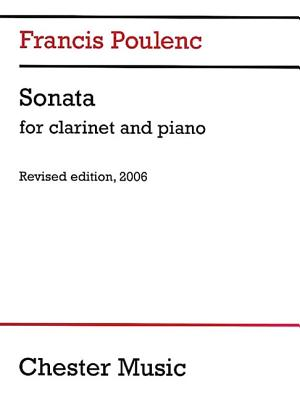 Sonata for Clarinet and Piano - Poulenc, Francis (Composer)