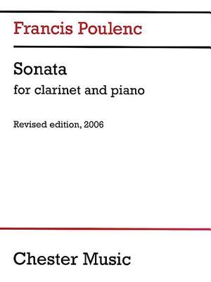 Sonata for Clarinet and Piano - Poulenc, Francis, and Sachania, Millan (Editor)