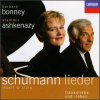 Songs by Robert & Clara Schumann - Barbara Bonney (soprano); Vladimir Ashkenazy (piano)