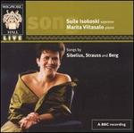 Songs by Sibelius, Strauss, Berg