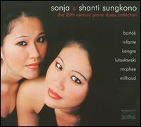 Sonja & Shanti Sugkono: The 20th Century Piano Duets Collection - Shanti Sungkono (piano); Sonja Sungkono (piano)