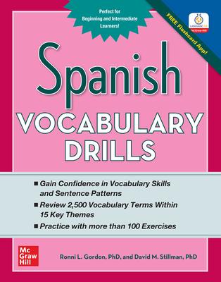 Spanish Vocabulary Drills - Gordon, Ronni L, and Stillman, David M