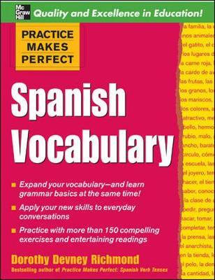 Spanish Vocabulary - Richmond, Dorothy
